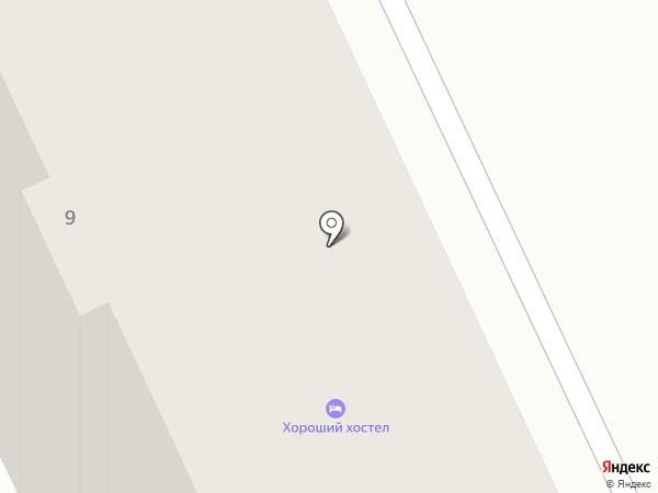 Хороший Хостел на карте Челябинска