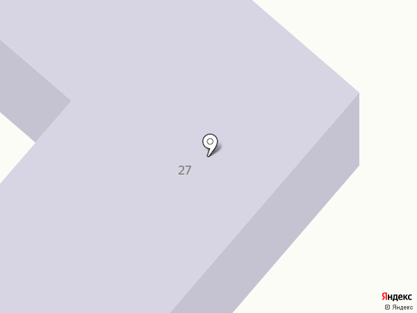 Средняя общеобразовательная школа №23 на карте Копейска