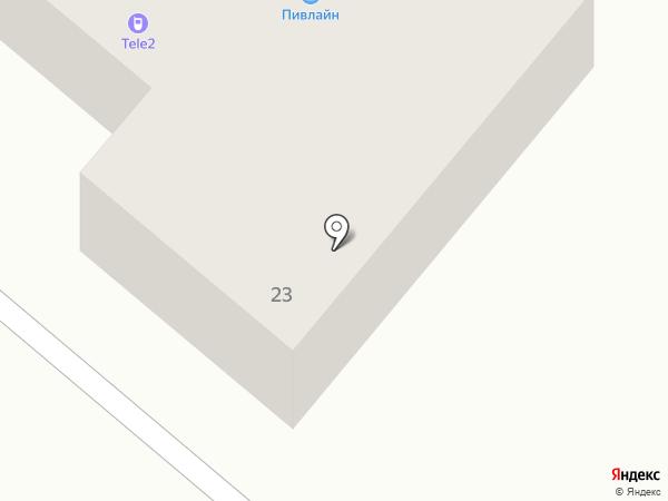 ИВА на карте Копейска