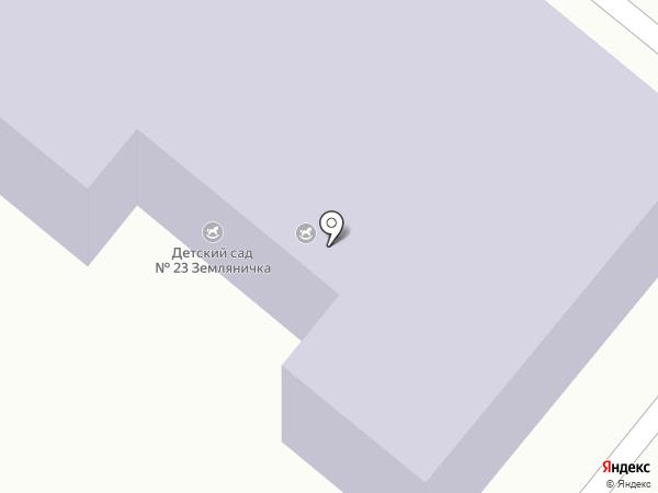 Детский сад №23 на карте Копейска
