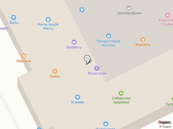 На Зальцмана на карте Челябинска