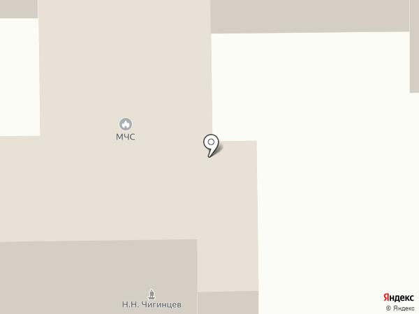 Пожарная часть №43 г. Копейска на карте Копейска