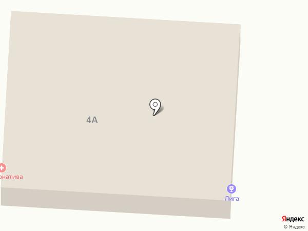 ЛИГА на карте Копейска