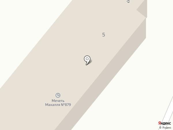 Мечеть Махалля №879 на карте Копейска