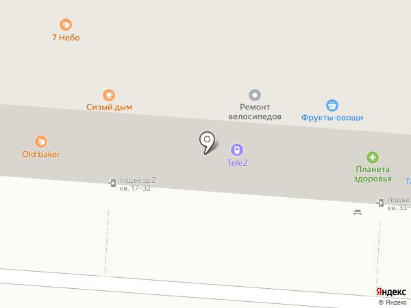 Связной на карте Копейска