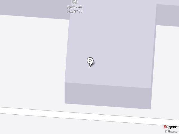 Детский сад №53 на карте Копейска