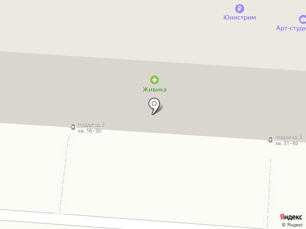 Дашеф на карте Копейска
