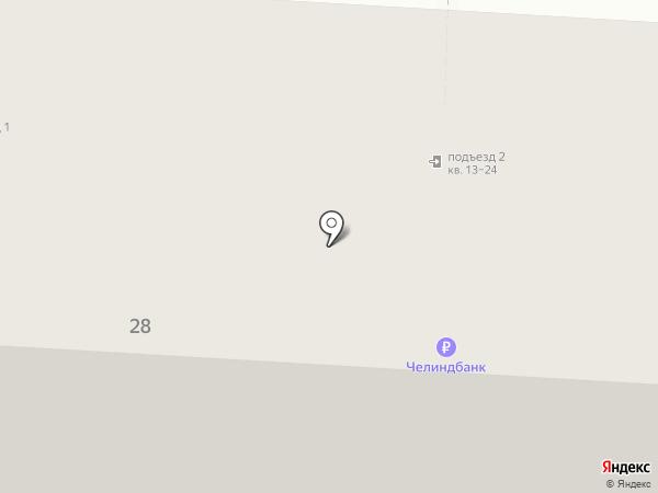 Макисон на карте Копейска