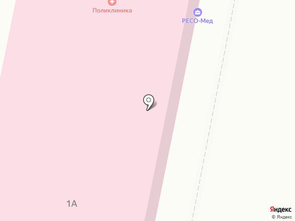 Поликлиника на карте Копейска