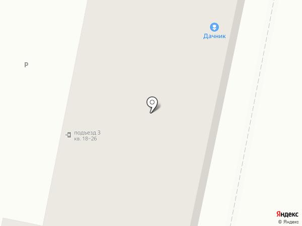 Дачник на карте Копейска