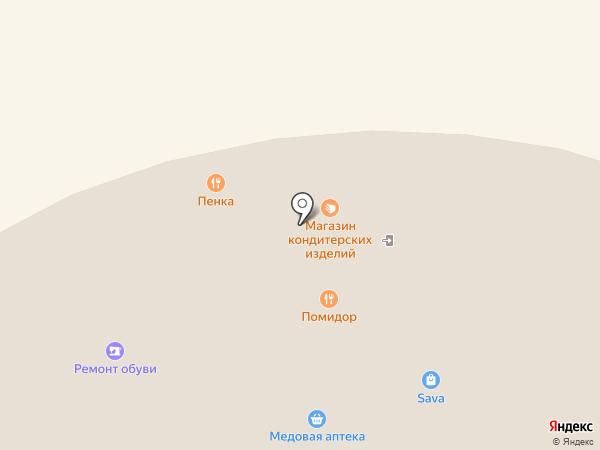 Jetelle на карте Копейска