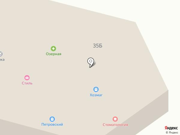 Скайс на карте Петровского