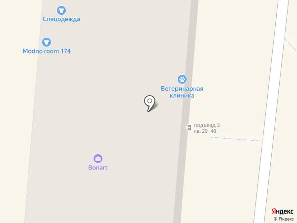 Ветеринарная лечебница Копейского городского округа на карте Копейска