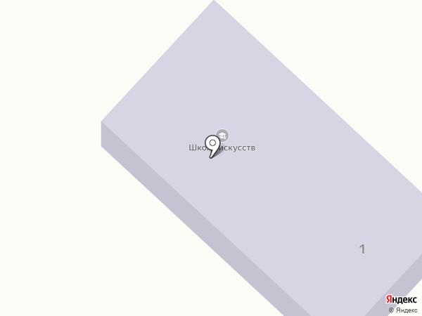 Петровская детская школа искусств на карте Петровского