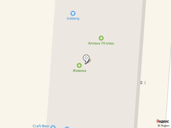 Светлана на карте Копейска