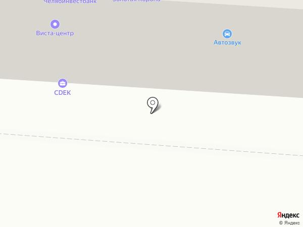 Торгово-сервисная фирма на карте Копейска