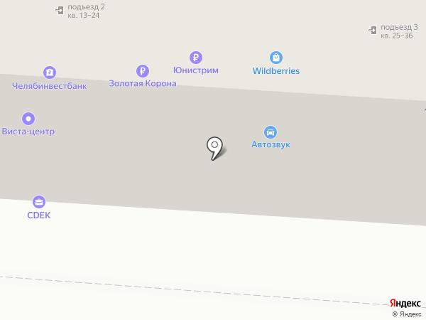 Планета ОРТО на карте Копейска