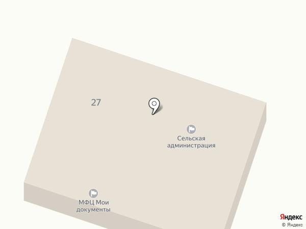 Администрация Озерного сельского поселения на карте Петровского