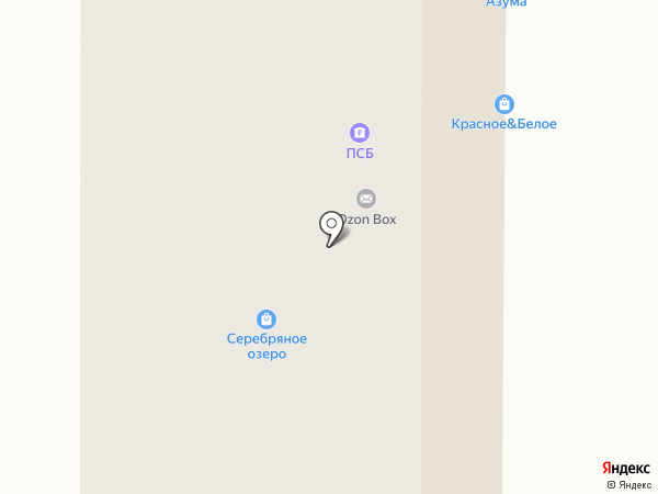 Автоград на карте Копейска