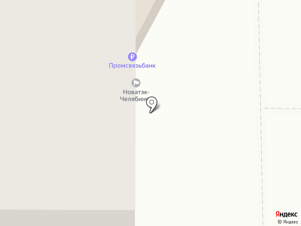 Промсвязьбанк, ПАО на карте Копейска