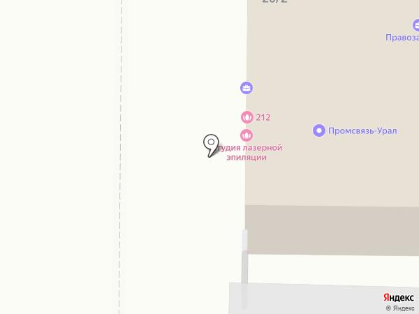 Ключ на карте Копейска