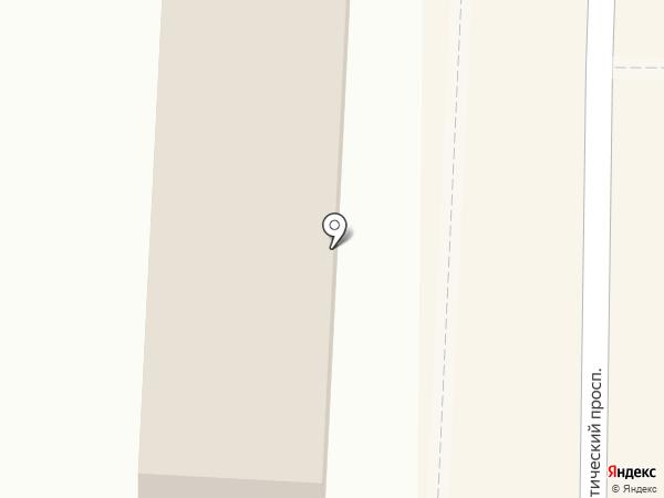 Молочный домик на карте Копейска