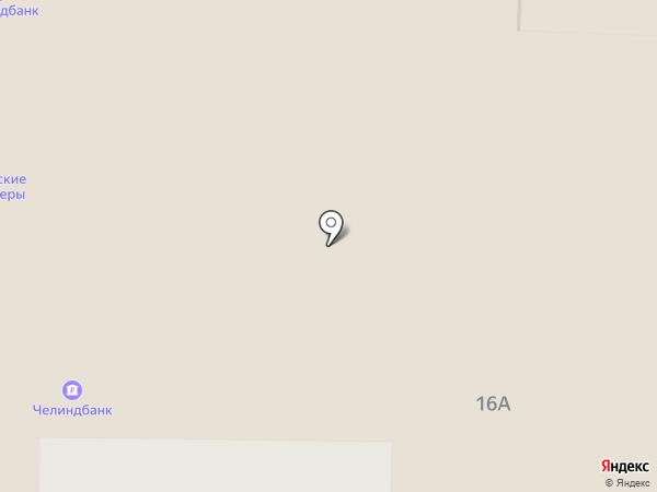 АКБ ЧЕЛИНДБАНК на карте Копейска