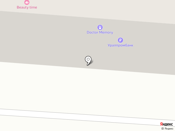 Банкомат, Уралпромбанк на карте Копейска