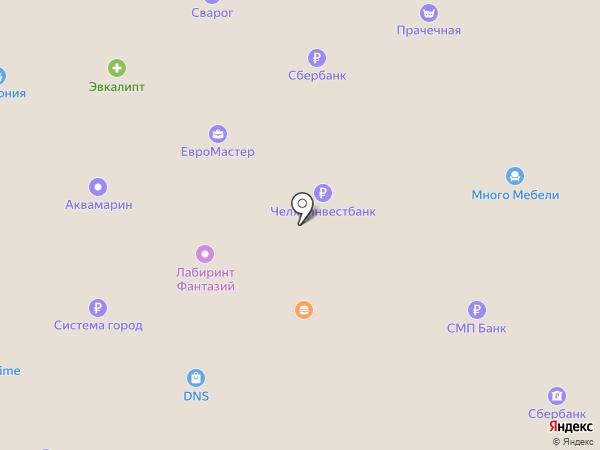 Паритет на карте Копейска
