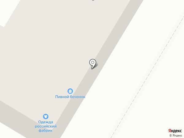 Пивной бочонок на карте Копейска