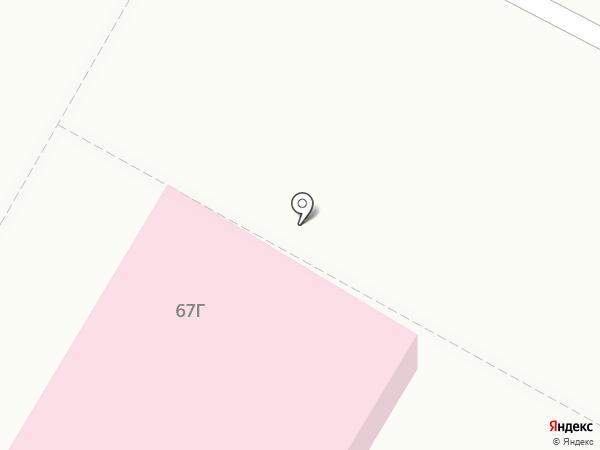 Детская городская поликлиника №1 на карте Копейска