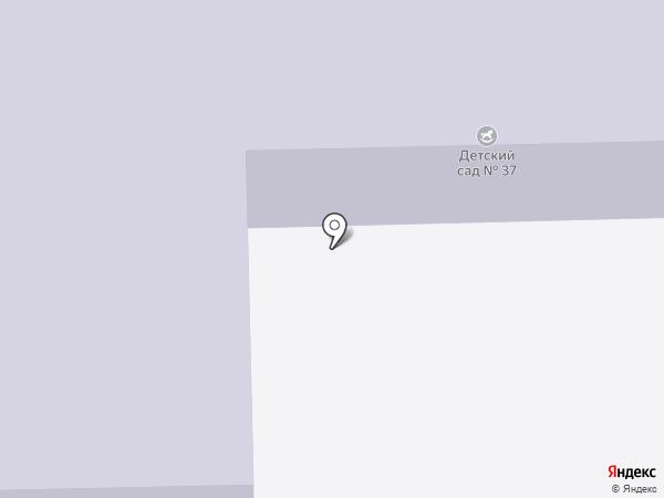 Детский сад №37 на карте Копейска