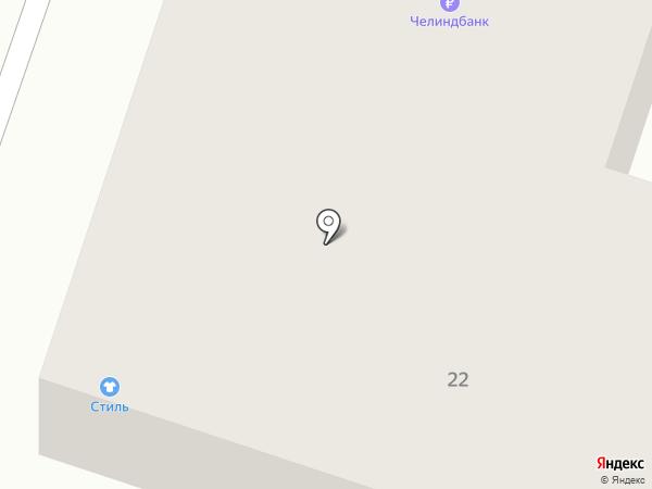 Универсам на карте Копейска