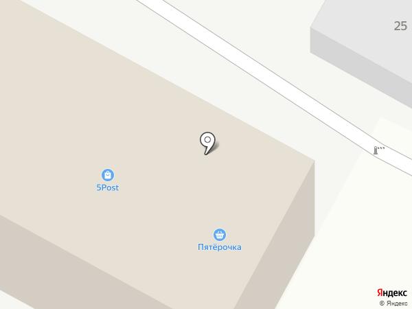 Пятерочка на карте Позарихи
