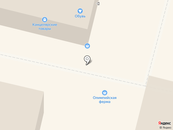 Киоск по продаже молочной продукции на карте Каменска-Уральского