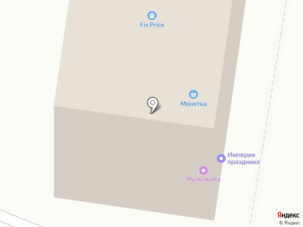 МультяшКа на карте Каменска-Уральского