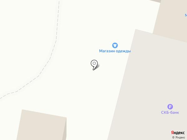 Банкомат, СКБ-банк, ПАО на карте Каменска-Уральского