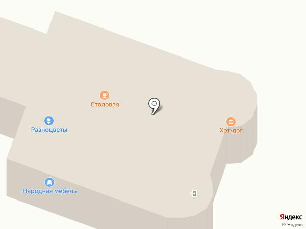 Анюта на карте Каменска-Уральского