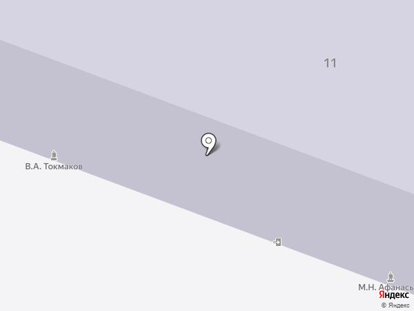 Средняя общеобразовательная школа №30 на карте Каменска-Уральского