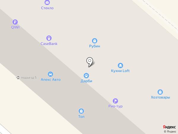 Стиль на карте Каменска-Уральского