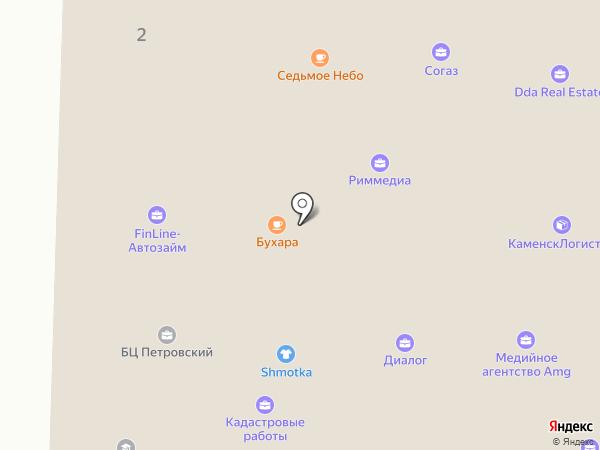 Тиммерман на карте Каменска-Уральского
