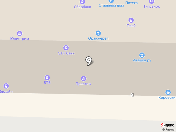 Тигренок на карте Каменска-Уральского