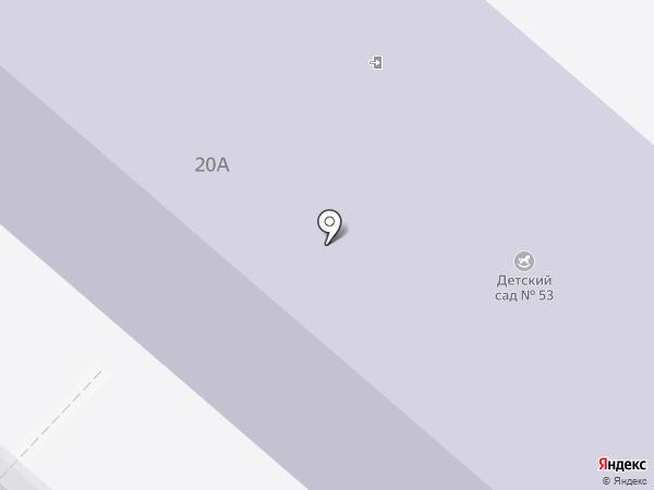 Детский сад №53 на карте Каменска-Уральского