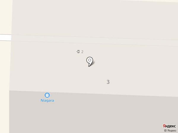 Ниагара на карте Каменска-Уральского