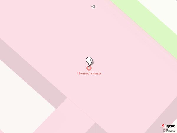 Узловая поликлиника на станции Каменск-Уральский на карте Каменска-Уральского