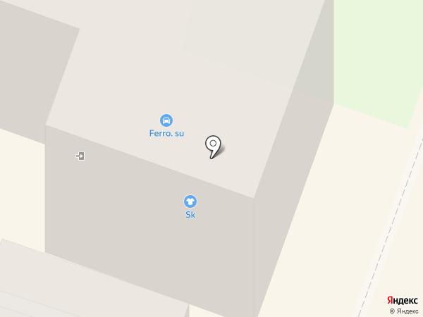 SK на карте Каменска-Уральского