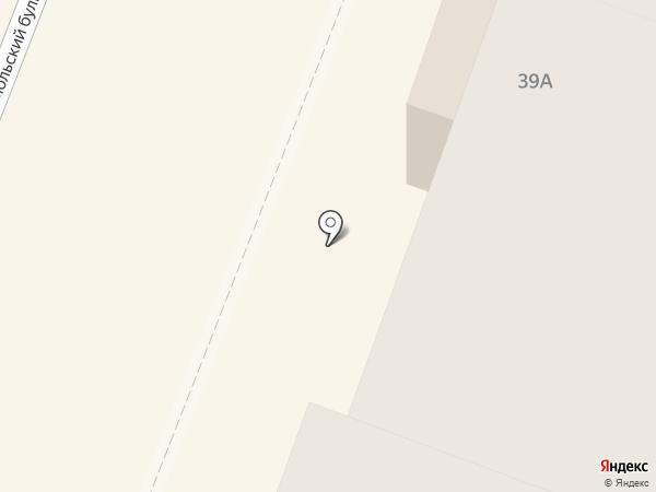Геометрика на карте Каменска-Уральского