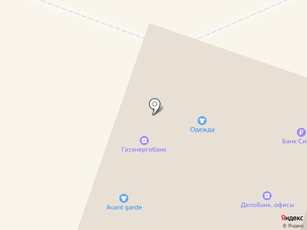 4 Ветра на карте Каменска-Уральского