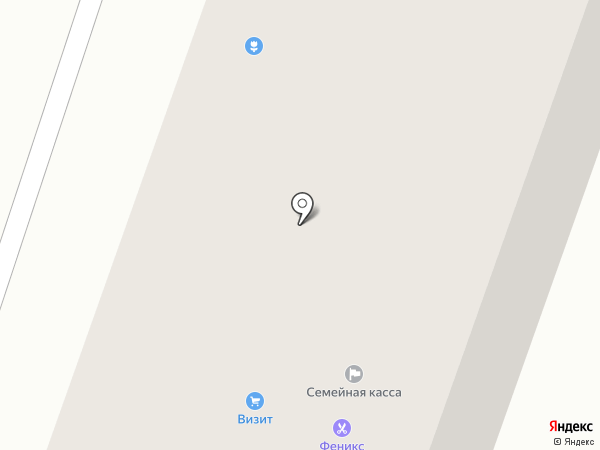Феникс на карте Каменска-Уральского