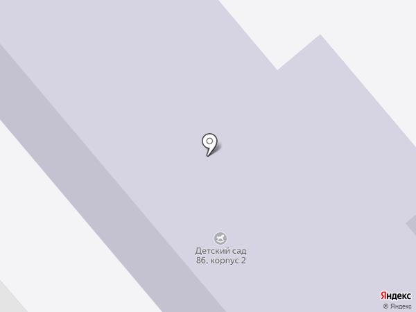 Детский сад №16 на карте Каменска-Уральского